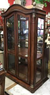 glass shelves for china cabinet jasper curio display cabinet hand painted with chinoiserie