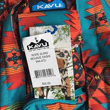 kavu bags black friday 24 off kavu handbags kavu sling bag in mojave oasis from