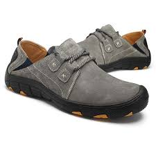 Soft And Comfortable Shoes Men Hiking Shoes Leather Soft Comfortable Wear And Slip Resistant