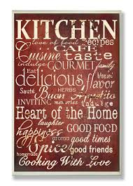 Red And White Kitchen by Red And White Kitchen And Home Quotes Wall Plaque U2013 Catering The Chef