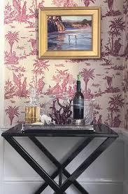 ralph lauren wallpaper dining room traditional with alfonso marina