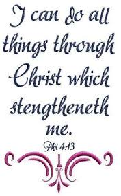 bible scripture embroidery design i can do all things in