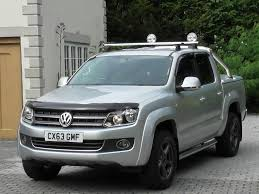 volkswagen truck diesel used reflex silver met with black vienna leather vw amarok for
