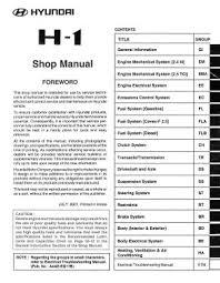hyundai service repair manuals pdf free downloads