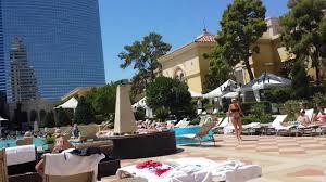 swimming pool area of bellagio hotel las vegas july 2016 youtube