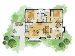 small mountain cabin floor plans eplans log houses house plan cozy cabin 681 square and 2