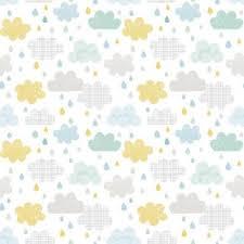 papier peint chambre enfant papier peint enfant nuages et gouttes