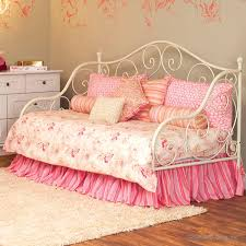 white wrought iron daybed for laura girls u0027 room ideas