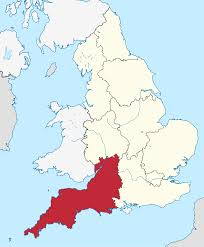 Map England by South West England Wikipedia