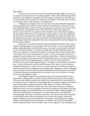 midterm portfolio cover letter dearreader important