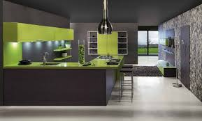 l shape modern kitchen design ideas decoration using white led