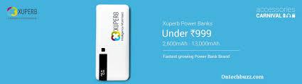 flip kart flipkart mobile accessories carnival sale xuperb power bank sale