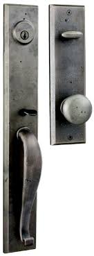 Exterior Door Hardware Rustic Weslock Rockford Handleset For The Tackroom Door With The Carlow
