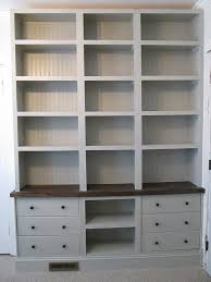 ikea bookshelves built in bookshelves with rast drawer base ikea hackers