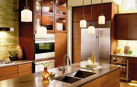 Wall Lights For Kitchen Kitchen Island With Pendant Lights Built In Stove And Oven Light