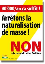bureau des naturalisations udc suisse naturalisation facilitée des étrangers de la troisième