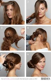 juda hairstyle steps wedding hairstyle 101 how to diy a side bun brides