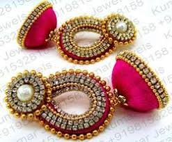 thread earrings silk thread earrings suppliers manufacturers in india