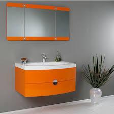 Wall Mounted Bathroom Cabinet by Energia 36 U0027 U0027 Modern Wall Mounted Bathroom Vanity W Panel Folding