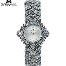 ladies silver bracelet watches images 100 925 sterling silver watch lady women thail silver wristwatch jpg