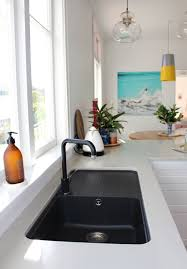 cush and nooks my kitchen the reveal black sink homes