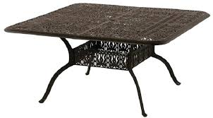 60 Patio Table Dining Table 60 Inch Square Patio Dining Table Collection Seats