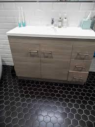 Hexagon Tile Bathroom Floor by 92 Best Hexagon Tile Looks Images On Pinterest Hex Tile