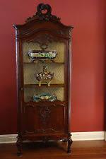 Antique German Display Cabinet Vitrine Antiques Ebay