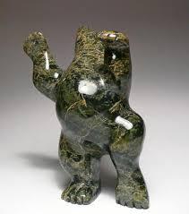 Inuit Soapstone Sculpture 6 5 8