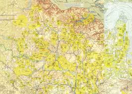 Map Of Jamestown Virginia by John Rogers Notes Andersons Of Colonial N Carolina