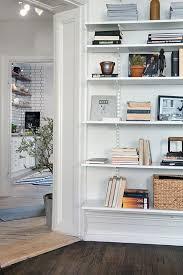 white wall mounted shelves home u2013 tiles
