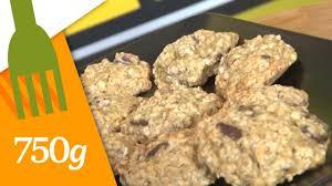 comment cuisiner le d avoine recette de biscuits aux flocons d avoine pépites de chocolat et