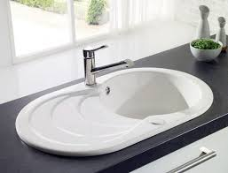 porcelain kitchen sink with drainboard are ceramic sinks any good