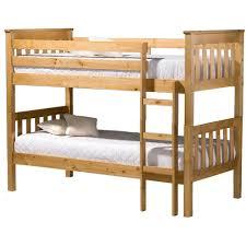 Pine Bunk Bed Buy Birlea Seattle Pine Bunk Bed Big Warehouse Sale