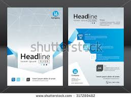 brochure template design vector illustration stock vector