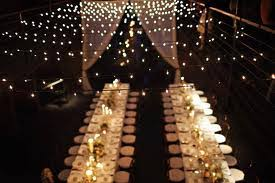 indoor string lights exles of decor using christmas string lights indoor banquet