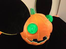 Deadmau5 Head Costume Halloween Epic Deadmau5 Pumpkin Head Love Halloween