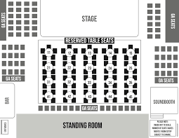 Evanston Illinois Map by Seating Chart Space Evanston U0027s Premier Concert Venue