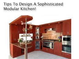 Designing A New Kitchen Tips To Design A Sophisticated Modular Kitchen