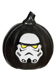halloween black birds star wars stormtrooper light up black pumpkin