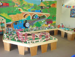 thomas the train wooden track table 225 best play train track layouts designs images on pinterest