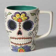 ceramic skull mug great home decor skull mug for coffee tea