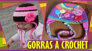 modelos modernos para gorras tejidas con gorras para bebe niños tejidas a crochet youtube