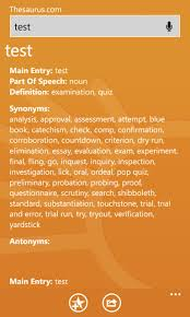 thesaurus confirmation dictionary com review all about windows phone