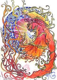 scifi and fantasy art ave fenix by fernanda godoy guerrero
