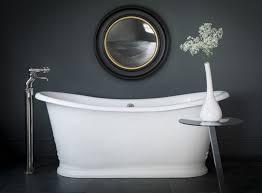le für badezimmer le bain de bateau cast iron bath catchpole rye black