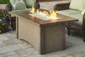outdoor greatroom fire table order the outdoor greatroom linear pine ridge fire pit table