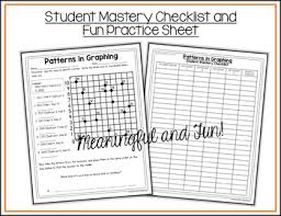coordinate graphing patterns worksheets by shelly rees tpt