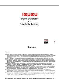 4hk1 6hk1 engine diagnostic and drivability student pdf fuel
