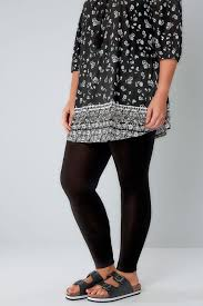Plus Size Ripped Leggings Plus Size Ladies Leggings Yours Clothing